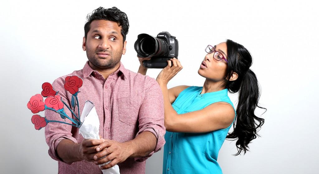 Ravi and Geeta Patel in Alchemy's MEET THE PATELS. ©Alchemy.