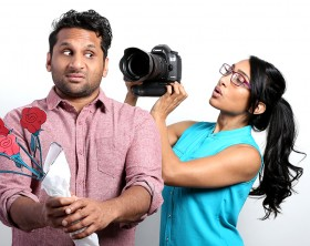 Ravi and Geeta Patel in Alchemy's MEET THE PATELS. ©Alchemy.