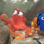 (l-r) Hank voiced by Ed O'Neill and Dory voiced by Ellen DeGeneras set off on an adventure in FINDING DORY  ©2016 Disney•Pixar. All Rights Reserved.