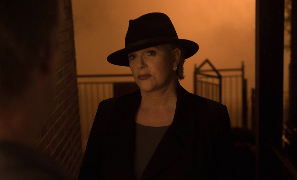 "Guest star Sharon Gless in the ""Chapter Five:  Through My Most Grievous Fault"" episode of THE EXORCIST on FOX.  ©2016 Fox Broadcasting Co.  Cr:  Jean Whiteside/FOX"