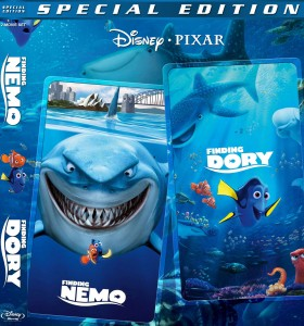 FINDING DORY. (DVD Artwork). ©Disney/Pixar.